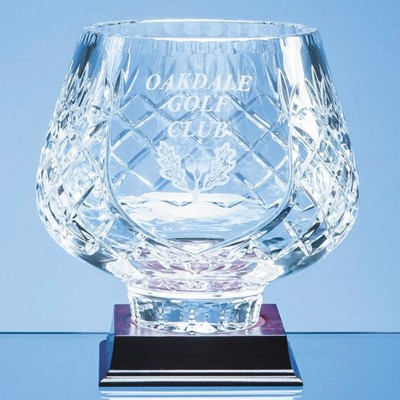 Picture of 18CM LEAD CRYSTAL PANELLED TULIP BOWL