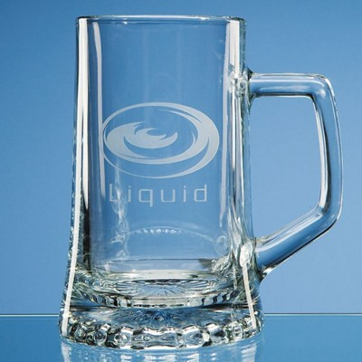 Picture of LARGE STERN GLASS BEER TANKARD