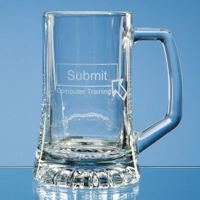 Picture of SMALL STERN GLASS BEER TANKARD