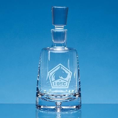 Picture of HANDMADE BUBBLE BASE HOLDING COMPANY DECANTER