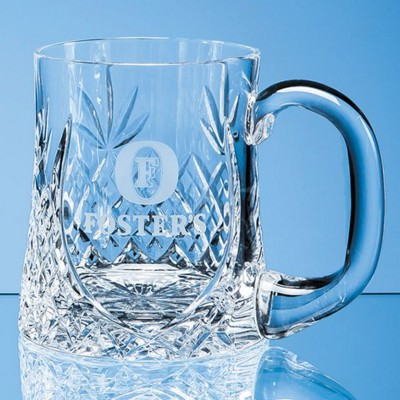 Picture of LEAD CRYSTAL SLOPED PANEL TANKARD