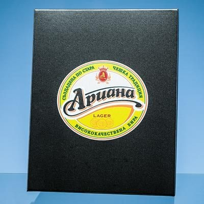 Picture of EXAMPLE OF FULL COLOUR PRINT ON THE LID OF SATIN LINED PRESENTATION BOX