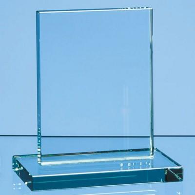 Picture of JADE GLASS SMALL RECTANGULAR AWARD