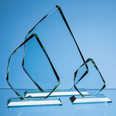 Picture of JADE GLASS FACETTED ICE PEAK AWARD