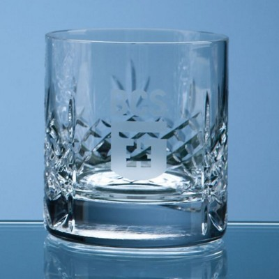 Picture of MAYFAIR LEAD CRYSTAL PANEL WHISKY TUMBLER