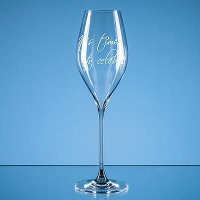 Picture of 320ML ITS TIME TO CELEBRATE DIAMANTE PROSECCO GLASS
