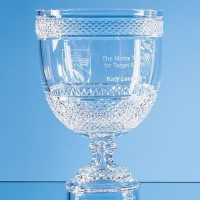 Picture of 27CM LEAD CRYSTAL FOOTED PRESENTATION BOWL