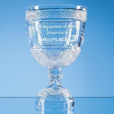 Picture of 35CM LEAD CRYSTAL FOOTED PRESENTATION BOWL