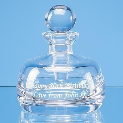 Picture of 8CM LEAD CRYSTAL PERFUME BOTTLE & STOPPER