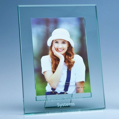 Picture of JADE GLASS PHOTO FRAME FOR 5X7 INCH PHOTO