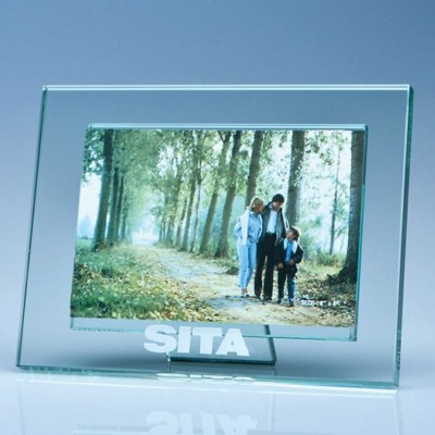 Picture of JADE GLASS PHOTO FRAME FOR 4 INCH x 6 INCH PHOTO, H