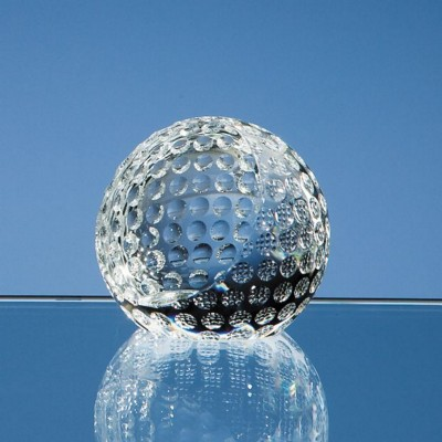 Picture of 6CM OPTICAL CRYSTAL GOLF BALL PAPERWEIGHT