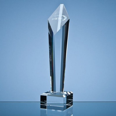 Picture of 29CM OPTICAL CRYSTAL DIAMOND COLUMN AWARD
