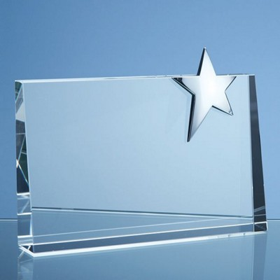 Picture of 20CM OPTIC HORIZONTAL RECTANGULAR with Silver Star