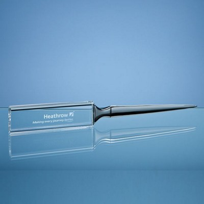 Picture of OPTICAL CRYSTAL LETTER OPENER