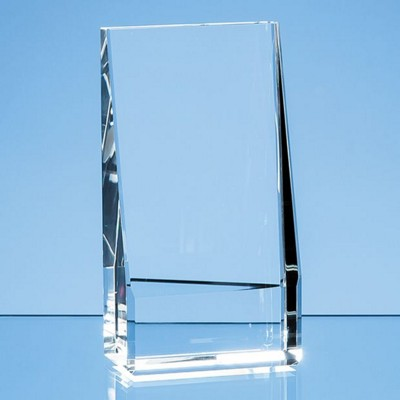 Picture of 20CM OPTICAL CRYSTAL VERTICAL SLOPE AWARD