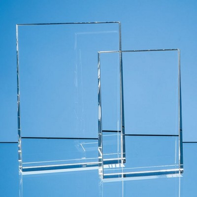 Picture of 15CM OPTICAL CRYSTAL VERTICAL WEDGE AWARD