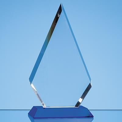 Picture of 20CM OPTICAL CRYSTAL FACET DIAMOND AWARD
