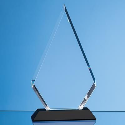 Picture of 18CM OPTICAL CRYSTAL FACET DIAMOND AWARD