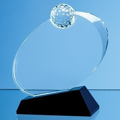 Picture of 16CM OPTICAL CRYSTAL GOLF BALL AWARD