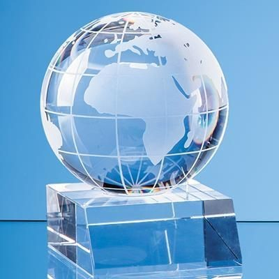 Picture of 5CM OPTICAL CRYSTAL GLOBE AWARD