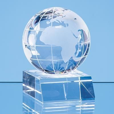 Picture of 6CM OPTICAL CRYSTAL GLOBE AWARD
