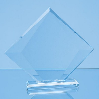 Picture of CLEAR TRANSPARENT GLASS VISION DIAMOND AWARD in a Gift Box
