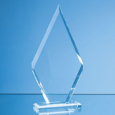 Picture of 20X10CM CLEAR TRANSPARENT GLASS LE DIAMOND AWARD in Gift Box