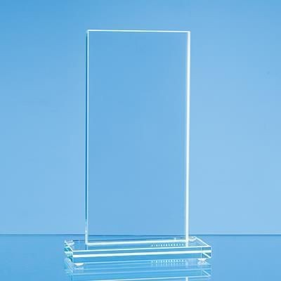 Picture of 24X9CM JADE GLASS TALL RECTANGULAR AWARD
