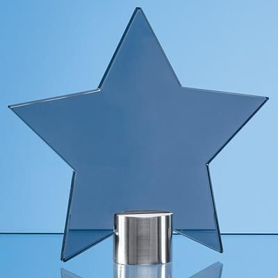 Picture of 11CM SMOKED GLASS STAR AWARD