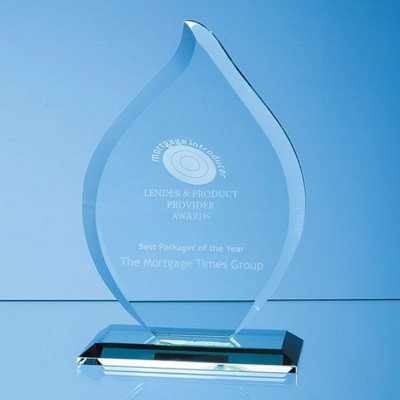 Picture of JADE GLASS FLAME AWARD