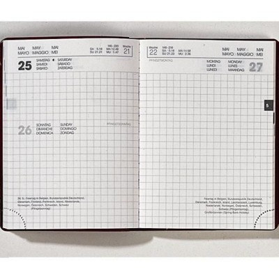 Picture of RECYCLED POCKET DIARY