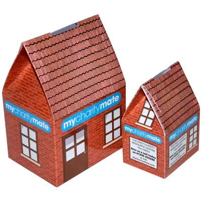 Picture of CARD HOUSE COLLECTION BOX
