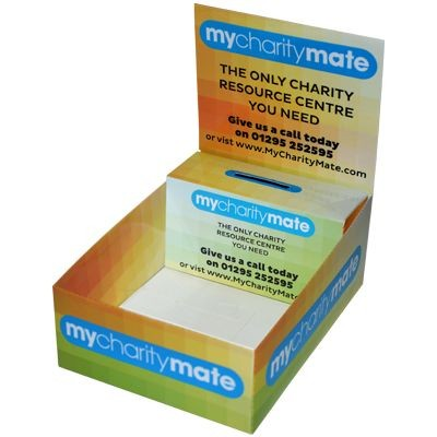 Picture of CARD COUNTER TOP MERCHANDISE COLLECTION BOX