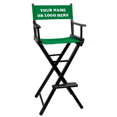 Picture of BLACK-FRAME TALL DIRECTORS CHAIR