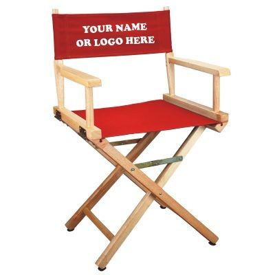 Picture of NATURAL-FRAME DIRECTORS CHAIR