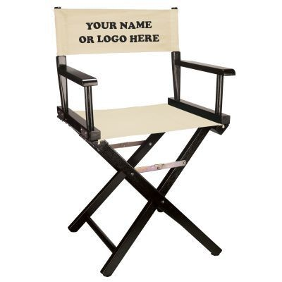 Picture of BLACK-FRAME DIRECTORS CHAIR