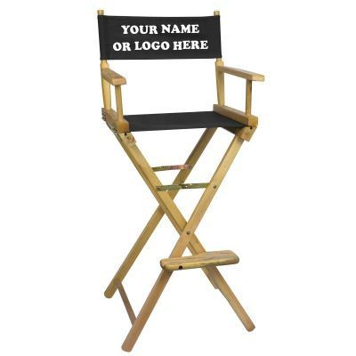 Picture of NATURAL-FRAME TALL DIRECTORS CHAIR