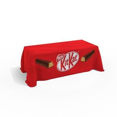 Picture of CUSTOM PRINTED THROW TABLE CLOTH