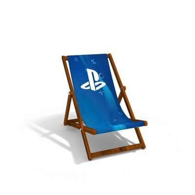 Picture of CHILDRENS DEXLUXE WOOD DECKCHAIR with 300gsm Canvas Sling