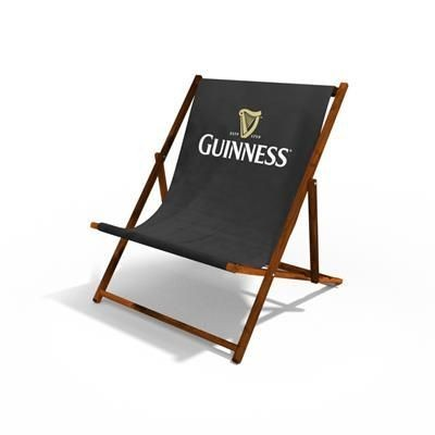 Picture of ADULT WIDE BOY DELUXE WOOD DECKCHAIR with 300gsm Canvas Sling
