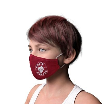 Picture of TEXTILE 2 PLY FACE MASK WITH FILTER POCKET