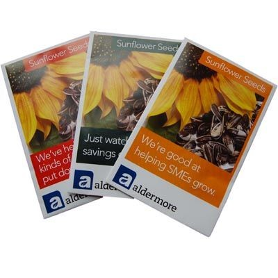 Picture of CUSTOMISED ENVELOPE STYLE SEEDS PACKET