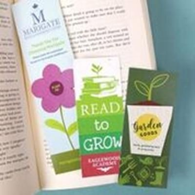 Picture of CUSTOMISED SEEDS PAPER BOOKMARK