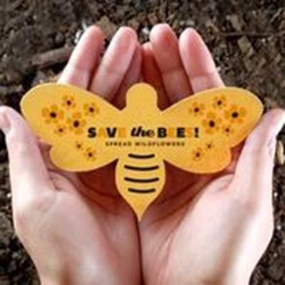 Picture of CUSTOM PRINTED SEEDS PAPER SHAPE