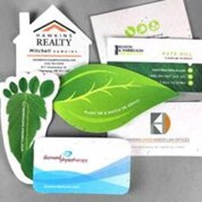 Picture of CUSTOM PRINTED SEEDS PAPER BUSINESS CARD