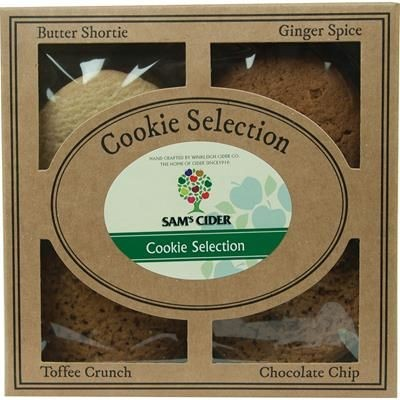 Picture of PERSONALISED COOKIE SELECTION GIFT PACK 300G