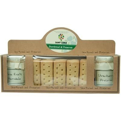 Picture of PERSONALISED SHORTBREAD & PRESERVE WINDOW GIFT PACK