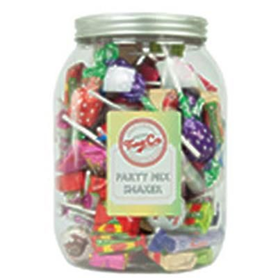 Picture of PERSONALISED RETRO SWEETS CONFECTIONERY JAR