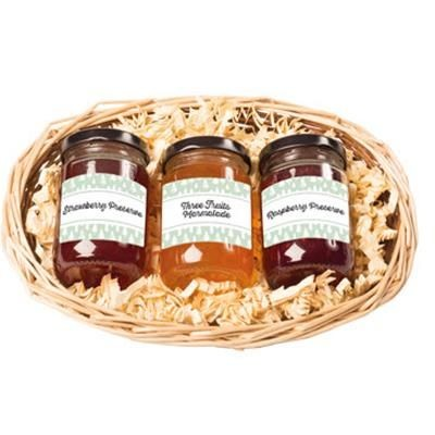 Picture of PERSONALISED MINI SWEETS PERSERVE & MARMALADE HAMPER